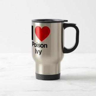 i love poison ivy travel mug