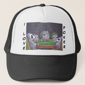 I Love Poker Hat