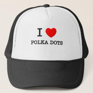 I Love Polka Dots Trucker Hat