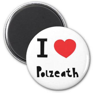 I love Polzeath 2 Inch Round Magnet
