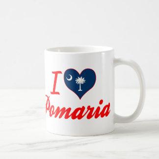 I Love Pomaria, South Carolina Coffee Mug