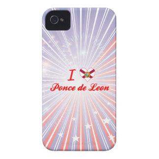 I Love Ponce de Leon, Florida Case-Mate iPhone 4 Case
