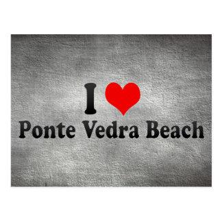 I Love Ponte Vedra Beach, United States Postcard