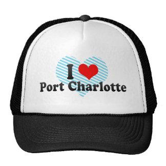 I Love Port Charlotte, United States Trucker Hat
