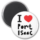 I love Port Isaac 2 Inch Round Magnet