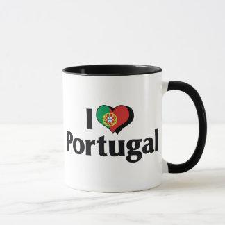 I Love Portugal Flag Mug