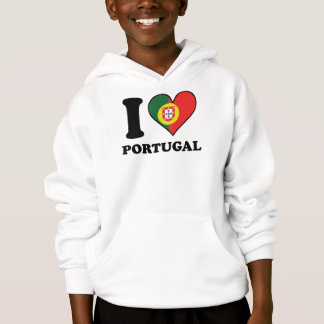 I Love Portugal Portuguese Flag Heart