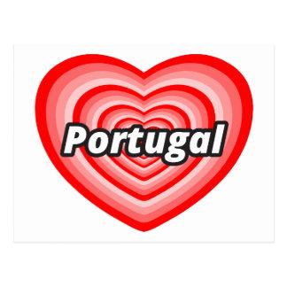I love Portugal Postcard