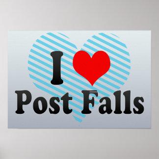 I Love Post Falls, United States Poster