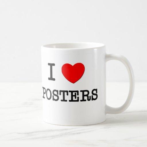 I LOVE POSTERS COFFEE MUG