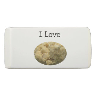 I Love Potato Salad Eraser