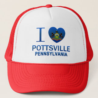 I Love Pottsville, PA Trucker Hat