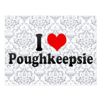 I Love Poughkeepsie, United States Postcard
