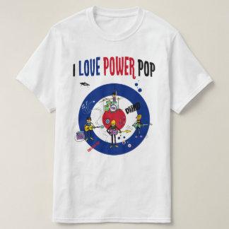 I love powerpop - B T-Shirt