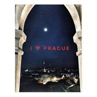 I love Prague Postcard