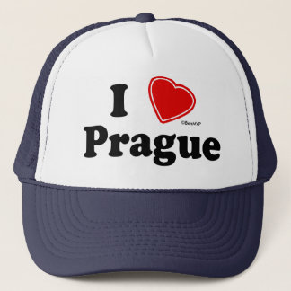 I Love Prague Trucker Hat