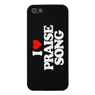 I LOVE PRAISE SONG iPhone 5/5S CASE