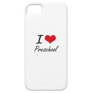 I Love Preschool iPhone 5 Covers