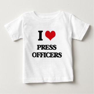 I love Press Officers T-shirt
