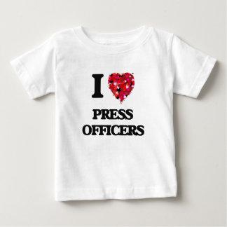 I love Press Officers Tee Shirt