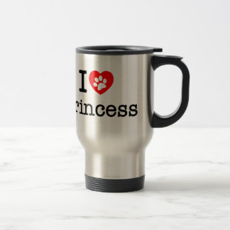 I love Princess Travel Mug