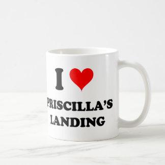 I Love Priscilla'S Landing Massachusetts Coffee Mug