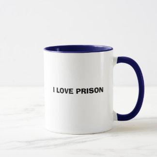 I LOVE PRISON MUG