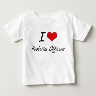 I love Probation Officers T-shirt
