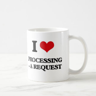 I Love Processing - A Request Coffee Mug