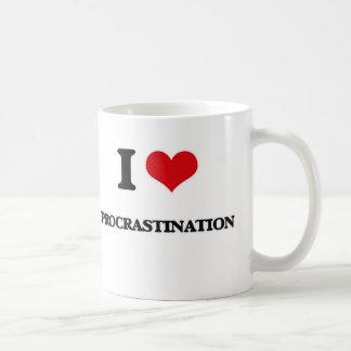 I Love Procrastination Coffee Mug