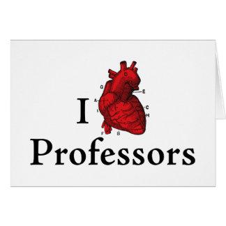 I love professors card