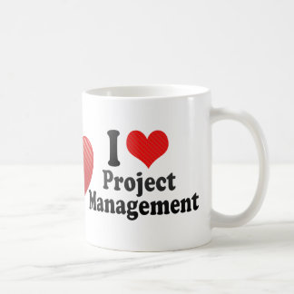 I Love Project Management Coffee Mug