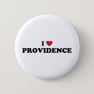 I Love Providence Rhode Island 2 Inch Round Button