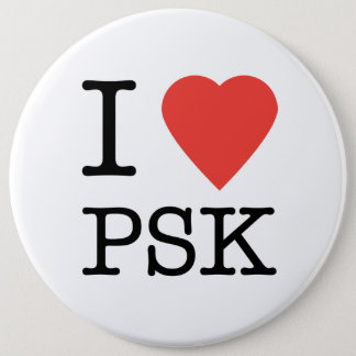 I Love PSK Button