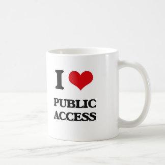 I Love Public Access Coffee Mug