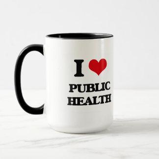 I Love Public Health Mug