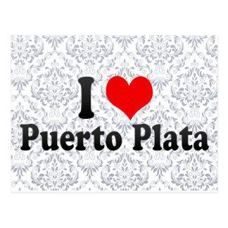 I Love Puerto Plata, Dominican Republic Postcard