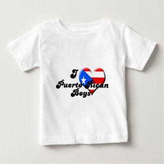 i love puerto rican boys baby T-Shirt