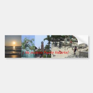 """""""I love Puerto Vallarta!"""" Bumper Sticker"""