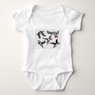 I Love Puffins! Baby Bodysuit