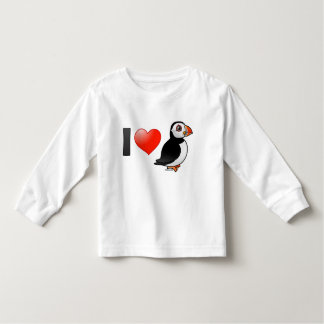 I Love Puffins Toddler T-shirt