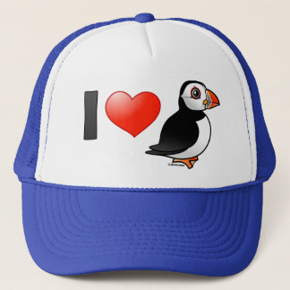 I Love Puffins Trucker Hat