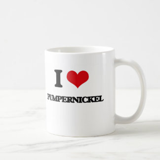 I Love Pumpernickel Coffee Mug