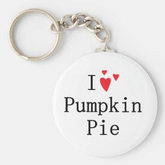 I love Pumpkin Pie Keychain