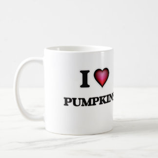 I Love Pumpkins Coffee Mug