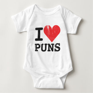 I Love Puns Infant Baby Bodysuit