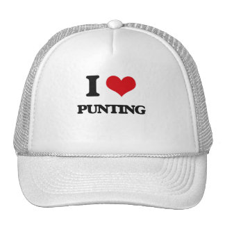 I Love Punting Hat