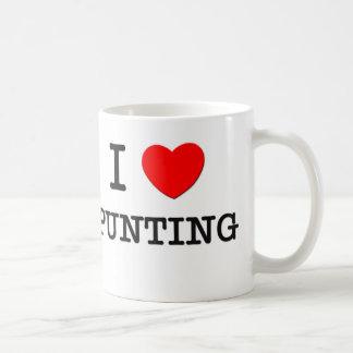 I Love Punting Coffee Mugs