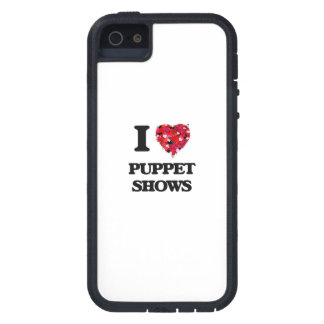 I love Puppet Shows Case For The iPhone 5