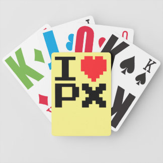 I Love PX Bicycle Playing Cards
